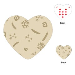 Pattern Culture Seamless American Playing Cards (Heart)