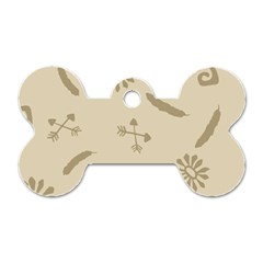 Pattern Culture Seamless American Dog Tag Bone (one Side)