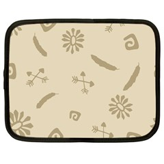 Pattern Culture Seamless American Netbook Case (large)