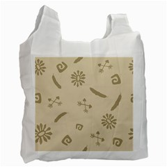 Pattern Culture Seamless American Recycle Bag (two Side)