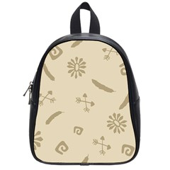 Pattern Culture Seamless American School Bags (small)