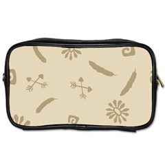 Pattern Culture Seamless American Toiletries Bags 2 Side