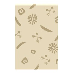 Pattern Culture Seamless American Shower Curtain 48  X 72  (small)
