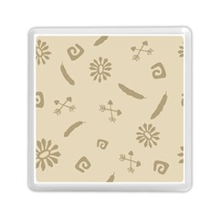 Pattern Culture Seamless American Memory Card Reader (Square)