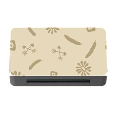 Pattern Culture Seamless American Memory Card Reader with CF