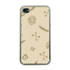 Pattern Culture Seamless American Apple Iphone 4 Case (clear)