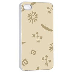 Pattern Culture Seamless American Apple Iphone 4/4s Seamless Case (white)
