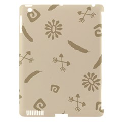 Pattern Culture Seamless American Apple Ipad 3/4 Hardshell Case (compatible With Smart Cover)