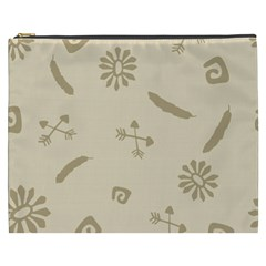 Pattern Culture Seamless American Cosmetic Bag (xxxl)