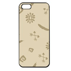Pattern Culture Seamless American Apple Iphone 5 Seamless Case (black)