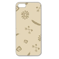Pattern Culture Seamless American Apple Seamless iPhone 5 Case (Clear)
