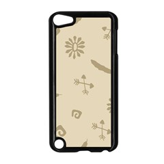 Pattern Culture Seamless American Apple Ipod Touch 5 Case (black)