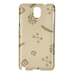 Pattern Culture Seamless American Samsung Galaxy Note 3 N9005 Hardshell Case