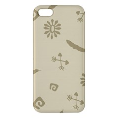 Pattern Culture Seamless American Iphone 5s/ Se Premium Hardshell Case
