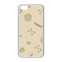 Pattern Culture Seamless American Apple iPhone 5C Seamless Case (White)