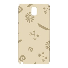 Pattern Culture Seamless American Samsung Galaxy Note 3 N9005 Hardshell Back Case