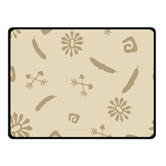 Pattern Culture Seamless American Double Sided Fleece Blanket (small)