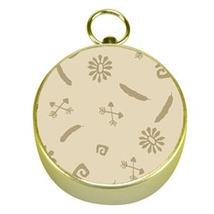 Pattern Culture Seamless American Gold Compasses
