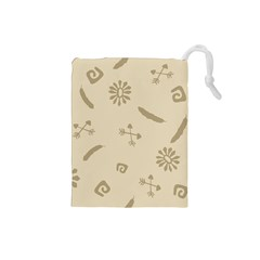 Pattern Culture Seamless American Drawstring Pouches (small)