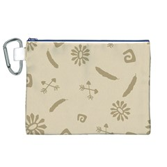 Pattern Culture Seamless American Canvas Cosmetic Bag (xl)