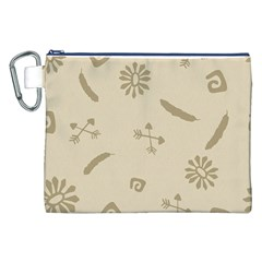 Pattern Culture Seamless American Canvas Cosmetic Bag (XXL)