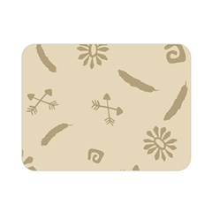 Pattern Culture Seamless American Double Sided Flano Blanket (mini)