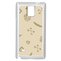 Pattern Culture Seamless American Samsung Galaxy Note 4 Case (White)