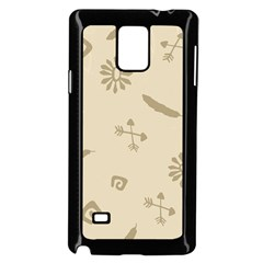 Pattern Culture Seamless American Samsung Galaxy Note 4 Case (Black)