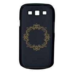 Monogram Vector Logo Round Samsung Galaxy S Iii Classic Hardshell Case (pc+silicone)
