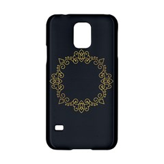 Monogram Vector Logo Round Samsung Galaxy S5 Hardshell Case