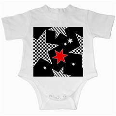 Stars Seamless Pattern Background Infant Creepers