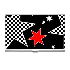 Stars Seamless Pattern Background Business Card Holders