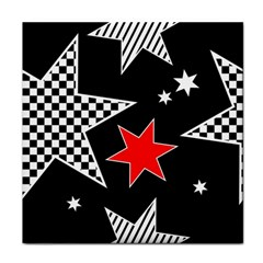 Stars Seamless Pattern Background Face Towel