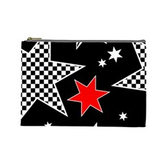 Stars Seamless Pattern Background Cosmetic Bag (Large)