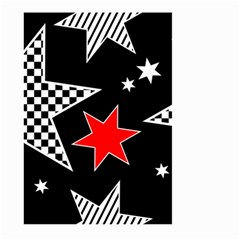 Stars Seamless Pattern Background Large Garden Flag (two Sides)