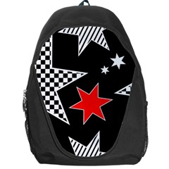 Stars Seamless Pattern Background Backpack Bag