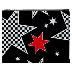 Stars Seamless Pattern Background Cosmetic Bag (xxxl)