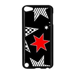 Stars Seamless Pattern Background Apple Ipod Touch 5 Case (black)