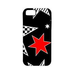 Stars Seamless Pattern Background Apple Iphone 5 Classic Hardshell Case (pc+silicone)