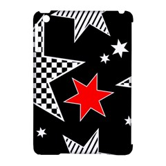 Stars Seamless Pattern Background Apple Ipad Mini Hardshell Case (compatible With Smart Cover)