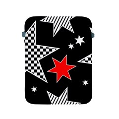 Stars Seamless Pattern Background Apple iPad 2/3/4 Protective Soft Cases