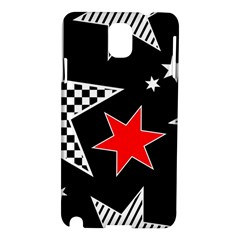 Stars Seamless Pattern Background Samsung Galaxy Note 3 N9005 Hardshell Case
