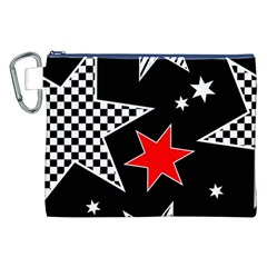 Stars Seamless Pattern Background Canvas Cosmetic Bag (xxl)