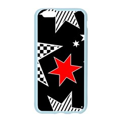Stars Seamless Pattern Background Apple Seamless iPhone 6/6S Case (Color)