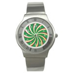 Background Vector Eps Png Purple Stainless Steel Watch Front