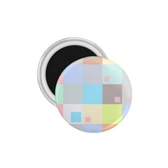 Pastel Diamonds Background 1.75  Magnets