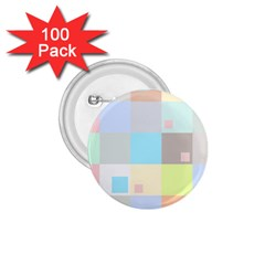 Pastel Diamonds Background 1 75  Buttons (100 Pack)