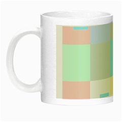Pastel Diamonds Background Night Luminous Mugs