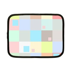 Pastel Diamonds Background Netbook Case (small)
