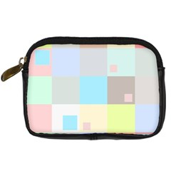 Pastel Diamonds Background Digital Camera Cases